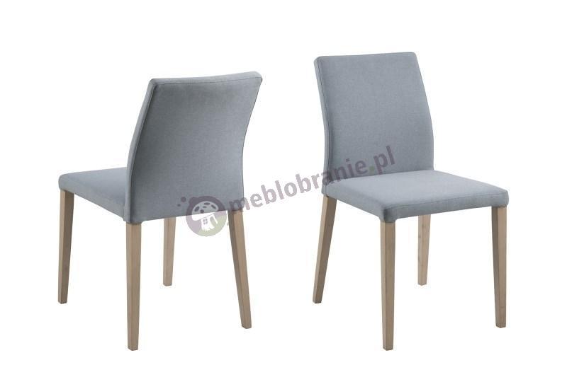 Actona Zina krzesło tapicerowane szare