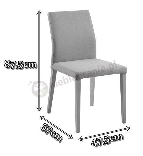 Actona Zina krzesło - wymiary