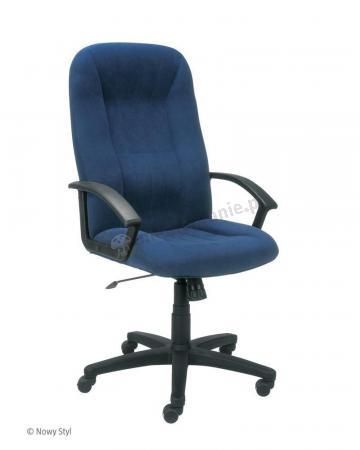 Fotel gabinetowy Mefisto 2002 niebieski