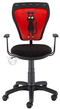 Krzesło dziecięce Ministyle Black TS22 GTP Kot