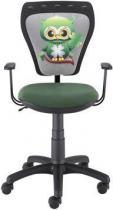 Krzesło dziecięce Ministyle Black TS22 GTP Sowa