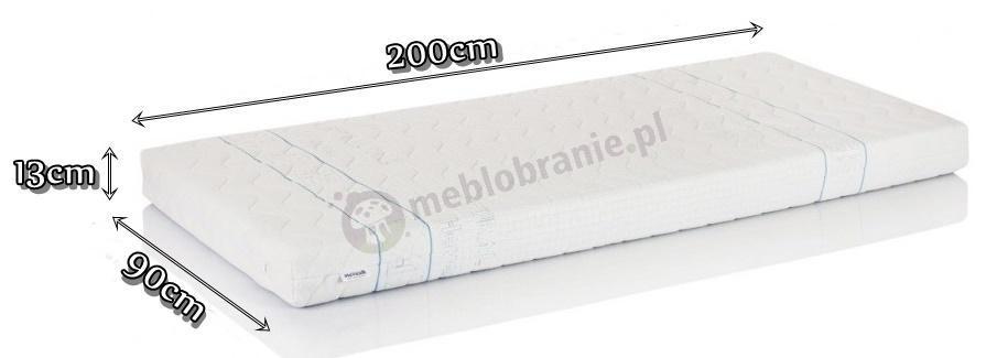 Materac lateksowy Hevea Junior 90x200