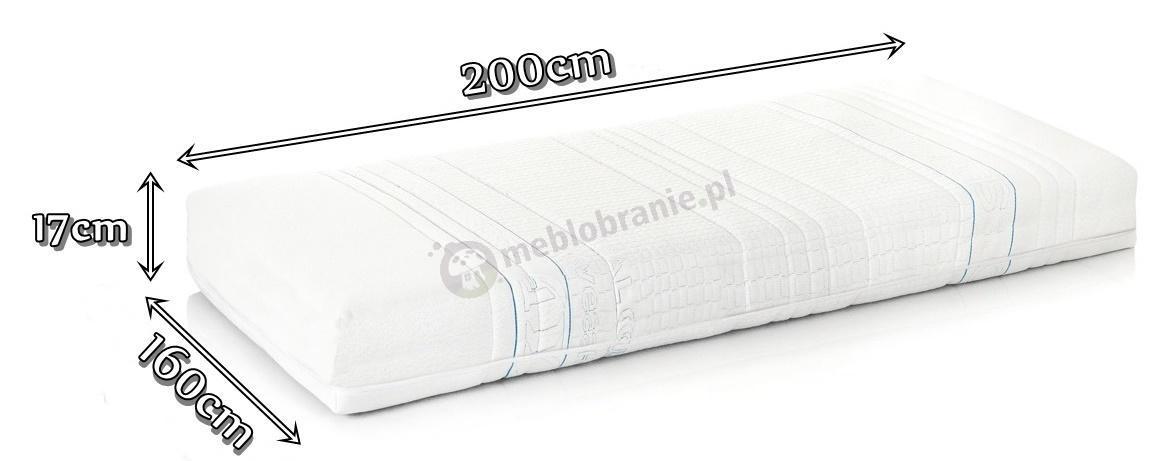 Materac Hevea Comfort H3 160x200