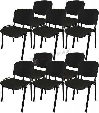 Krzesło ISO Black C11 - 10 sztuk