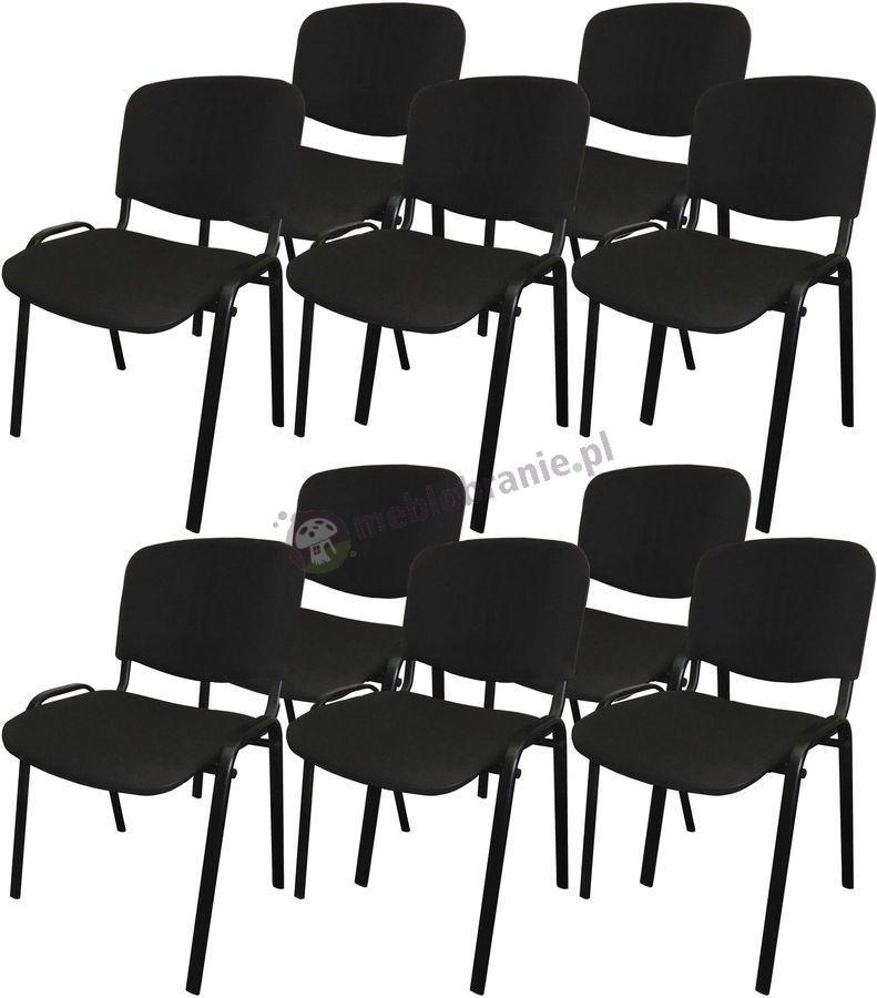 Krzesło ISO Black C11 czarne - 10 sztuk