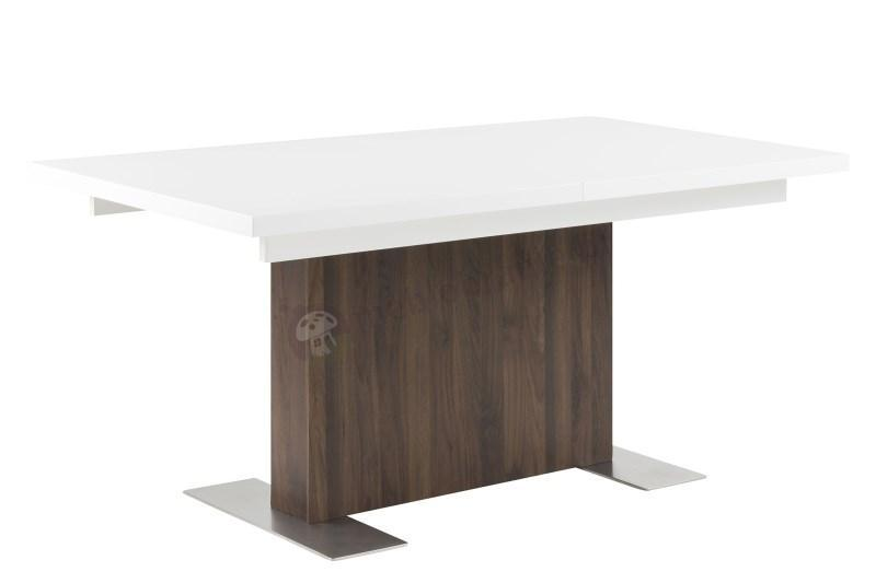 Actona Brick rozkładany biały stół