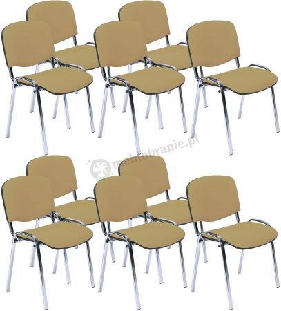 Krzesło ISO Chrom C18 - 10 sztuk