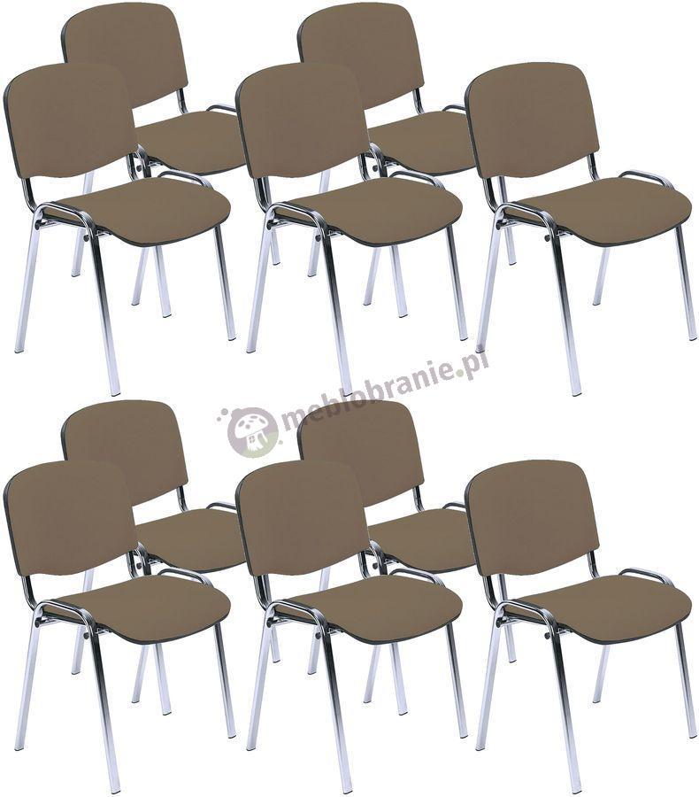 Krzesło ISO Chrom C24 - 10 sztuk
