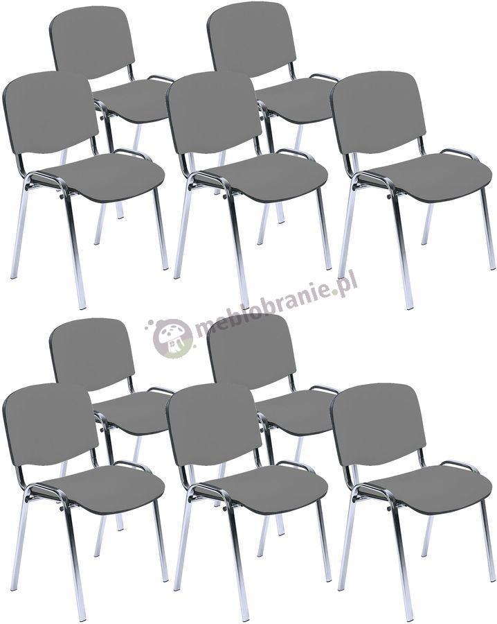 Krzesło ISO Chrom C73 - 10 sztuk