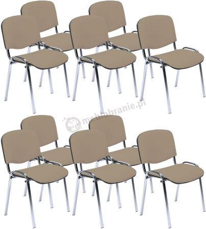 Krzesło ISO Chrom C4 - 10 sztuk