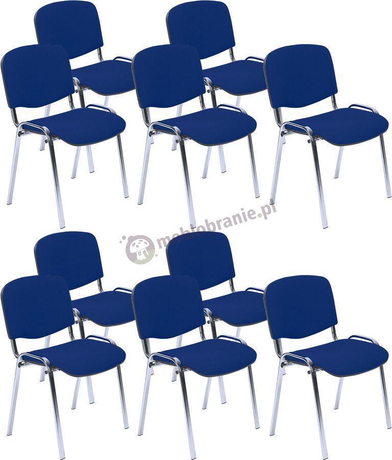 Krzesło ISO Chrom C14 - 10 sztuk
