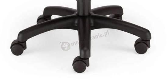 Gumowe kółka Ministyle do powierzchni twardych czarne Nowy Styl