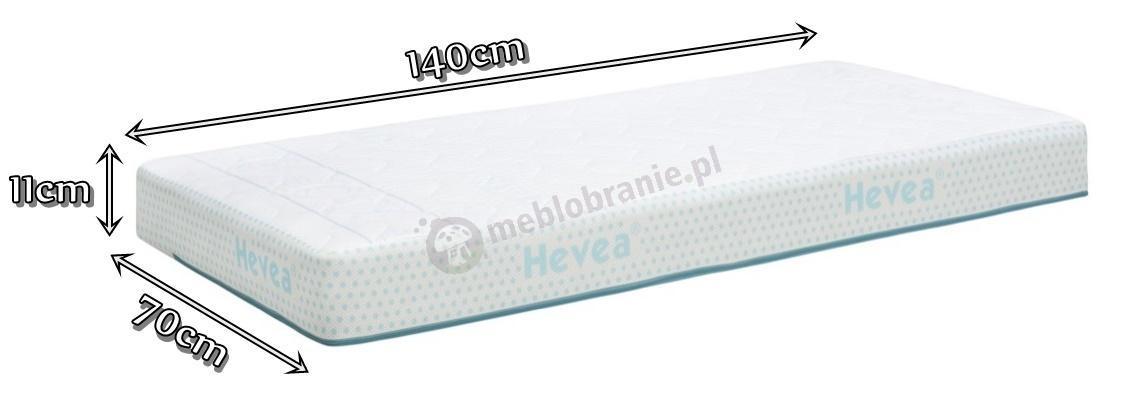 Materac Hevea Airmax 3D 140x70