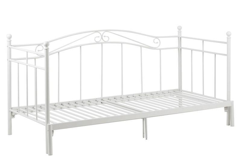 Actona Bavo Rozsuwane łóżko Ozdobne Z Metalu 80 160x200cm