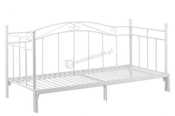 Actona Bavo rozsuwane łóżko ozdobne z metalu 80-160x200cm