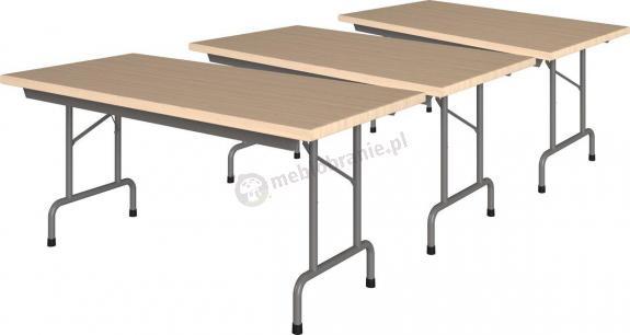 Zestaw 3 stołów konferencyjnych 160x80cm Rico 2 Buk