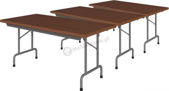 Zestaw 3 stołów składanych 160x80cm Rico 2 Orzech