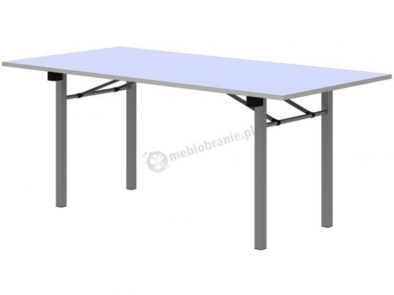 Stół bankietowy składany biały 180x90cm - 10 sztuk