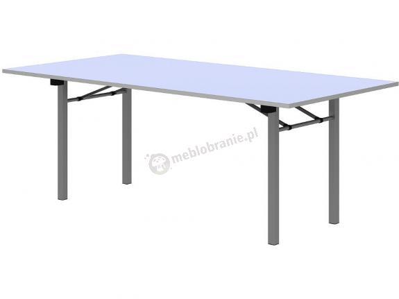 Stół bankietowy składany biały 200x100cm - 10 sztuk