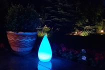 Lampa dekoracyjna LED kropla wody NT-D1634