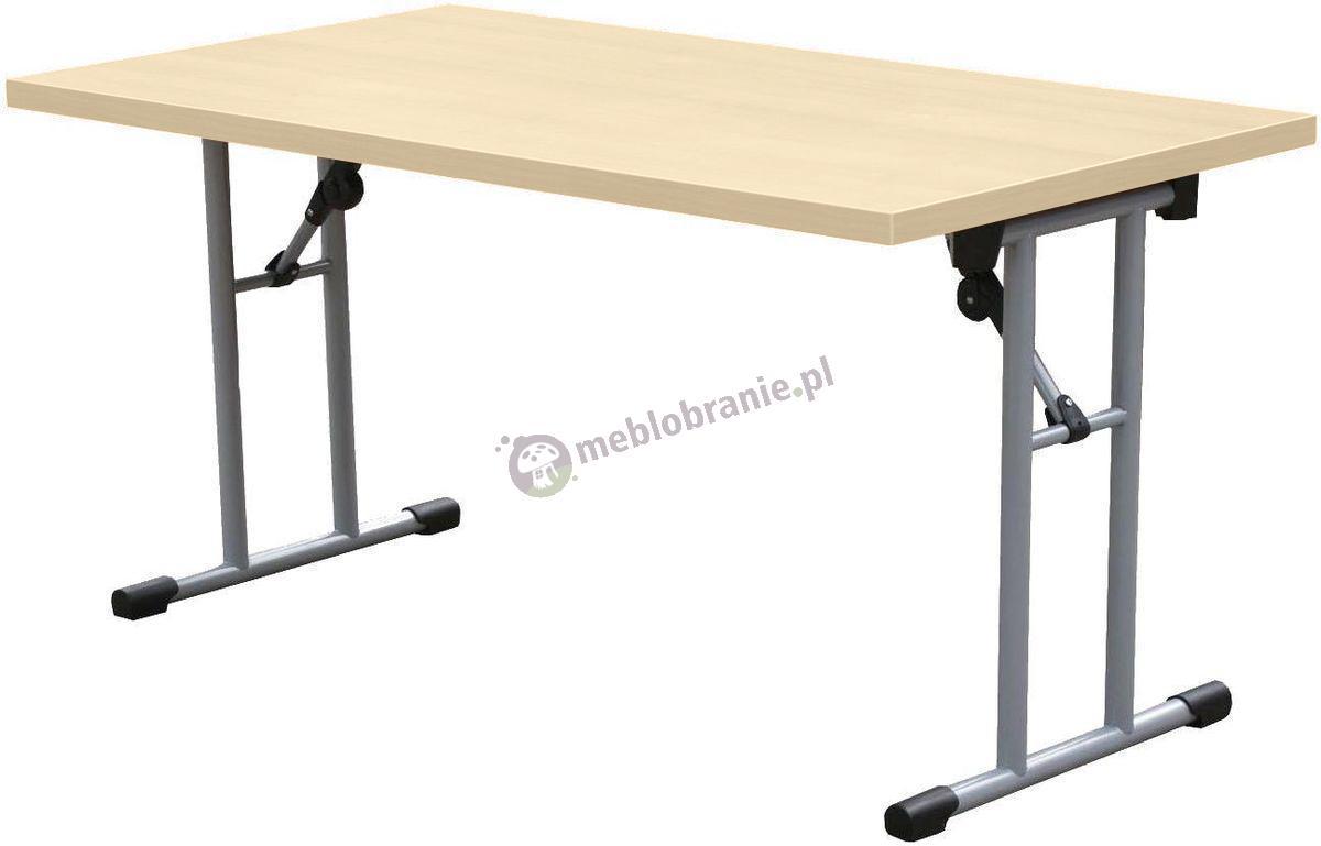Stół konferencyjny składany 160x80 cm Klon