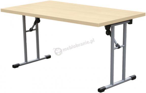 Stół konferencyjny składany 139x68 cm Klon