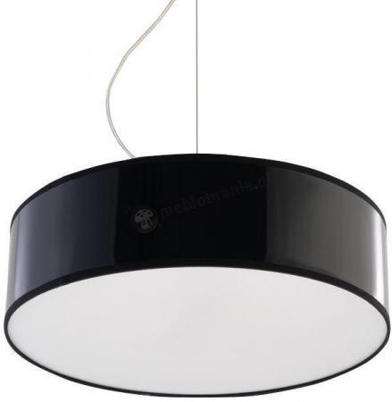 Wysoka lampa wisząca czarna do salonu Arena SL.0115