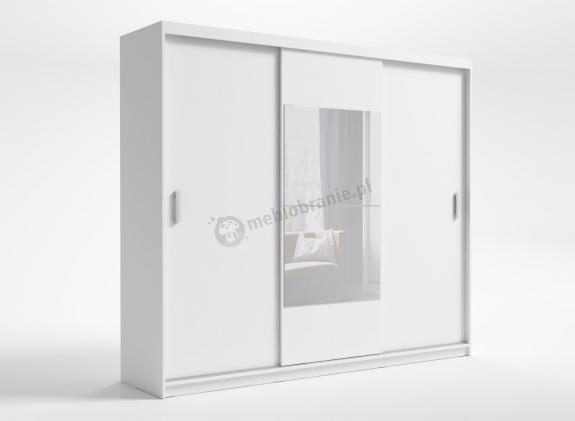 Garderoba rozsuwana z lustrem do przedpokoju Kola