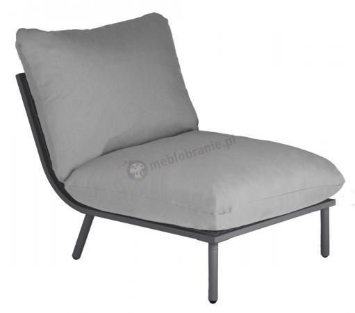 Alexander Rose Beach Lounge ekskluzywna pufa z oparciem ogrodowa z aluminium 8802FLGR