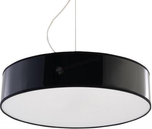 Czarna lampa na kablu okrągła do kuchni Arena SL.0118