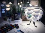 Lampa silvia mini aranżacja create