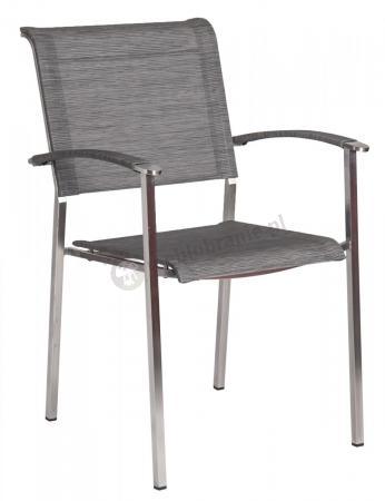 Alexander Rose Cologne stalowe krzesło ogrodowe 905SM