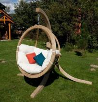 Fotel wiszący Zosia ze stelażem