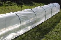 Tunel foliowy Mini ogrodowy 3,75x0,8m