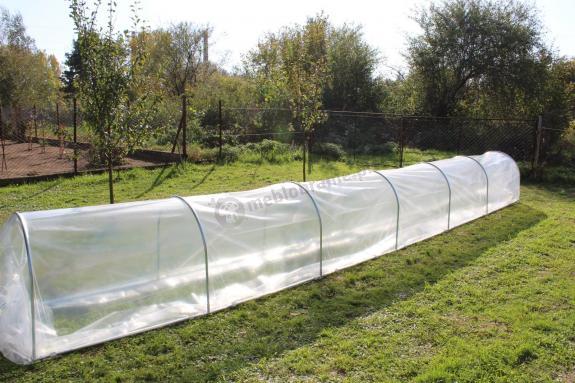 Niski foliak na warzywa ogrodowy Mini 10x0,8m