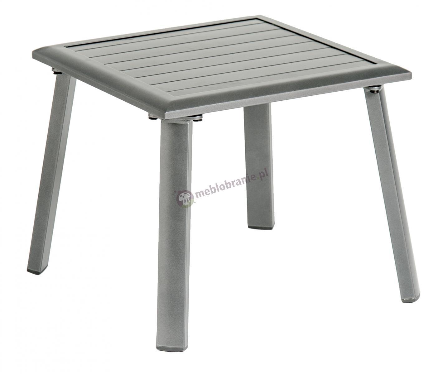 Alexander Rose Portofino Lite aluminiowy taboret ogrodowy 471