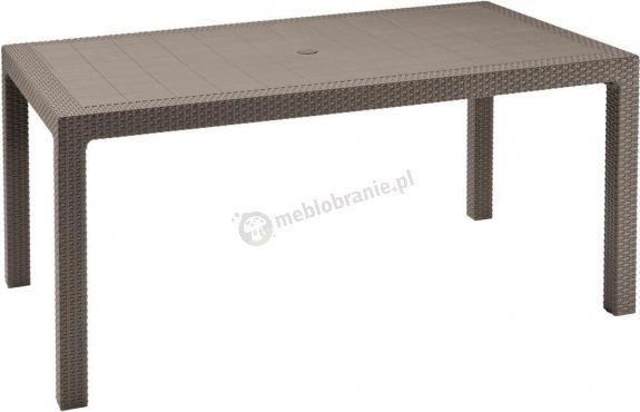 Stół ogrodowy Melody 160x95cm cappucino