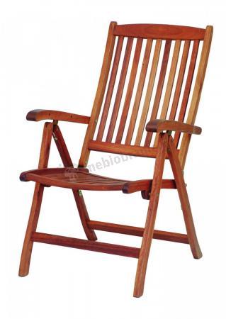 Alexander Rose Cornis drewniane krzesło składane Recliner 320B