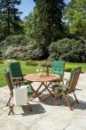 Alexander Rose Cornis drewniane krzesło składane Recliner 320B - inspiracja