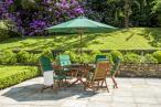 Alexander Rose Cornis drewniane krzesło składane Recliner 320B - wizualizacja