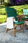 Alexander Rose Cornis drewniane krzesło składane Recliner 320B - aranżacja
