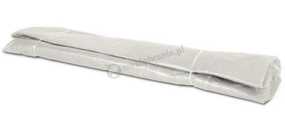Biała folia na tunel foliowy metalowy 6x3m