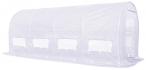 Biały tunel foliowy metalowy 5*2m