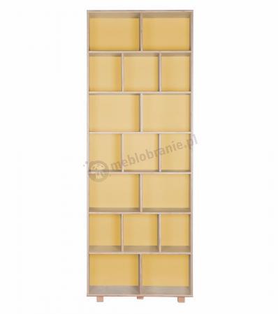 Regał żółty front