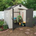 Szopa ogrodowa Lifetime 244x229 aranżacja