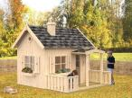 Dziecięcy domek ogrodowy drewniany Marysia 6m2
