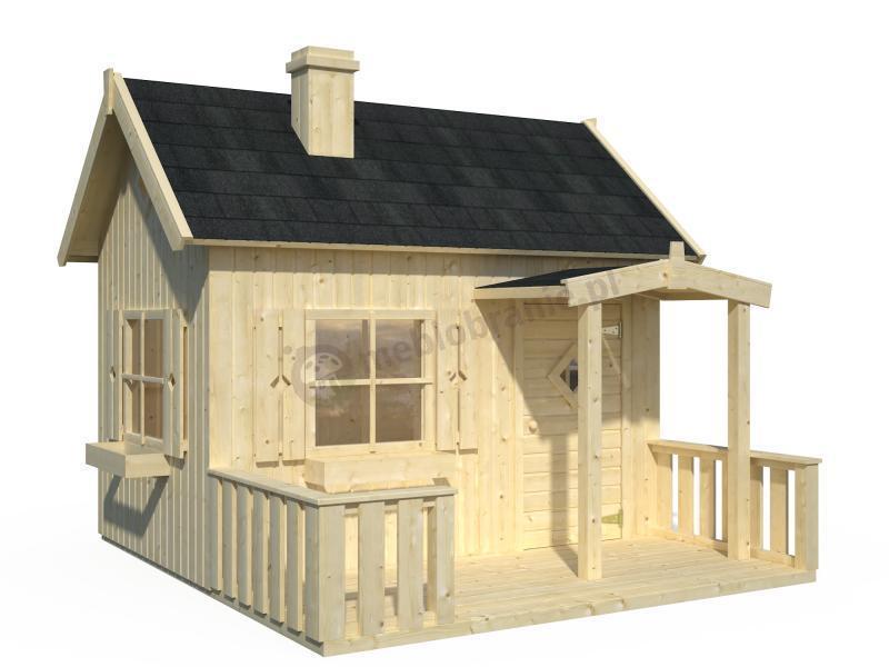 Drewniany domek ogrodowy Marysia