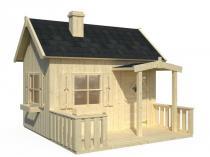 Dziecięcy domek ogrodowy drewniany Marysia 3,6m2