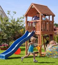 Plac zabaw dla dzieci ze zjeżdżalnią Fungoo Junior