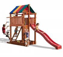 Plac zabaw do ogrodu ze zjeżdżalnią Fungoo Paradise